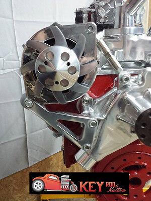 Small block Chevy aluminum alternator bracket  long water pump 350 SBC LWP 305