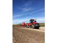 Experienced Tractor Drivers Required for Harvest and Autumn Cultivations