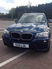 BMW X3 2.0 20d SE xDrive 5dr Automatic-Full Service History