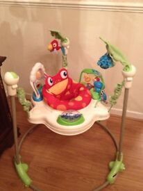 * Fisher Price Rainforest Jumperoo - Excellent Condition *