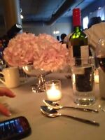 Wedding - 69 Centerpiece silver vases