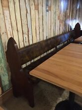 Newly upholstered timber church pews Burleigh Heads Gold Coast South Preview
