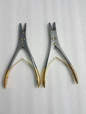 Tc Surgical Wire Twister Plier Orthopedic Instruments 2 Pieces