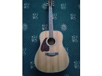 Left Handed Ibanez Acoustic Guitar Solid Top (lefty, lh martin, lefthanded, south paw, leftie vox)