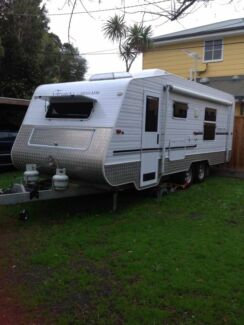 Caravan Eureka Southern Cross 22.5ft Semi offroad  Port Hedland Port Hedland Area Preview