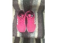 Girls Adidas trainers