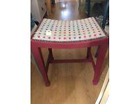 Beautiful Dressing Table Stool