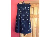 Oasis Strapless Embellished Dress