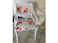Upcycled bedroom/ hall chair