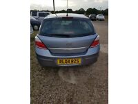ASTRA 1.6 16V CLUB 5dr SPARES OR REPAIRS