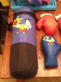 Kids boxing set for sale