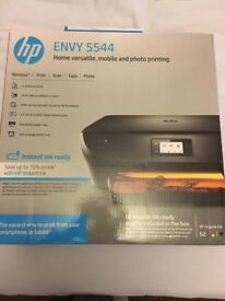 NEW BOXED HP Envy 5544 All-In-One Wireless Printer Touch Screen + Photo Tray NEW BOXED!!!