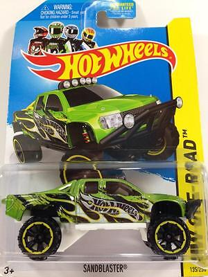 sandblaster 2014 hot wheels super treasure hunt sandblaster - Rare Hot Wheels Cars 2013