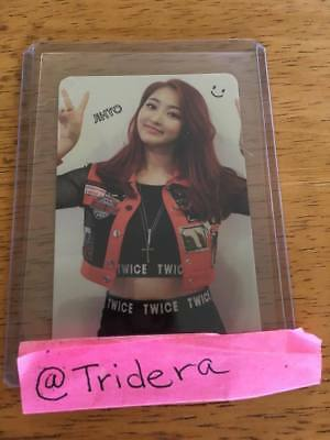 Twice The Story Begins 1st Mini Album Jihyo Adult Photo Card KPOP Official ONCE