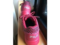 Fila President of Sneakers Limited edition pair