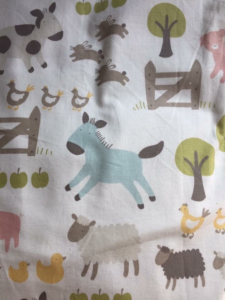 John Lewis Little Home Farmyard Curtains