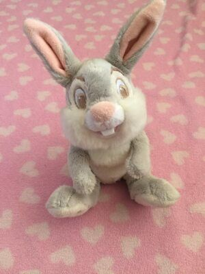 "Disney Baby Thumper Rabbit Bambi 6"" Comforter Soft Beanie Plush Toy Easter Bunny"