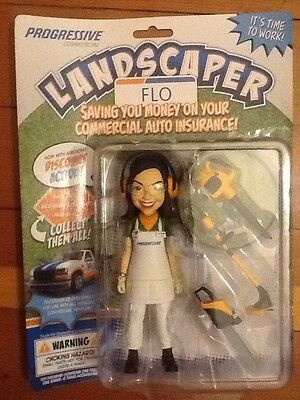 Flo Landscaper Progressive Insurance Action Figure