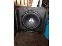 JL Audio Subwoofer AMP CD PLAYER