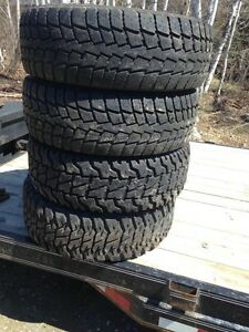 31x10.5x15 tires for free must take all.