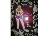 BEER WENCH COULD BE USED AS WITCH OUTFIT SIZE 10/12 GREAT FOR HALLOWEEN