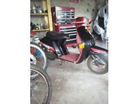 Honda vision moped