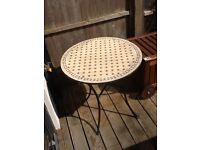 Garden Table. Mosaic Top. Moroccan Style. Pick up Chiswick W4