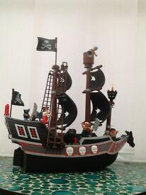 Lego Duplo pirate ship 7880