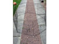 flexible dog cage suitable for puppy/small breed of dog