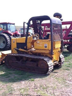John Deere 450D Dozer with 6 way blade