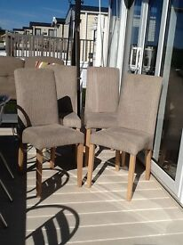 Four dining chairs bargain for £30.00