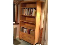 Laura Ashley oak bookcase