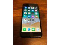 Iphone 7 on o2 jet black 32gb