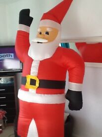 Out door inflatable Santa