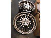 "Mercedes Audi Passat 19 "" inch alloy wheels"