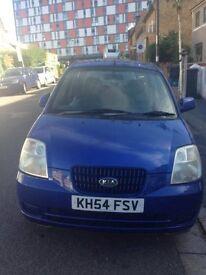 Kia Picanto Lx Auto Blue 2004 (offer accepted)
