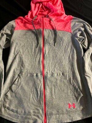 Womens under armour hoodie/sweatshirt/jacket size medium