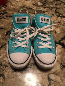 CONVERSE - Women's 9 - Tiffany Blue