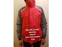 Men Ski Jacket dare2be brand size M