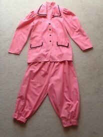 Buttons panto costume