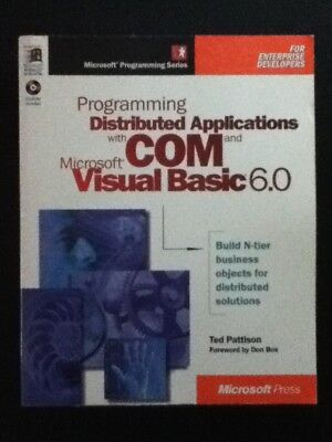 Programming Distributed Applications With Com And Microsoft Visual Basic 6 0