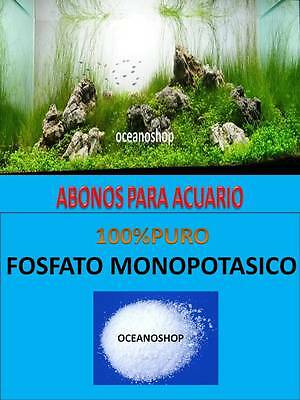 FOSFATO MONOPOTASICO 150GR ABONO PARA ACUARIO PLANTADO PLANTAS PECERA ABONADO