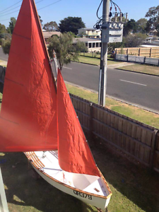 16 foot Wooden Sailing Boat and trailor Coronet Bay Bass Coast Preview