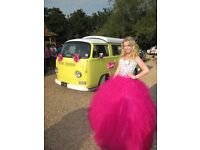 Pink Princess Prom Dress / Ball Gown