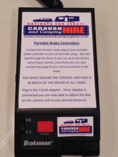 PORTABLE ELECTRIC BRAKE UNIT - ONLY $315 inc. postage Narre Warren South Casey Area Preview