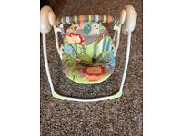 Baby battery swinger for sale in excellent condition from smoke and pet free home