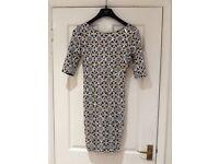 Bodycon sequined mini dress, River Island, size 12