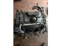 2007 Engine Bare No Injectors Inside, BKP Vw Passat Manual B6 2.0 Tdi Saloon