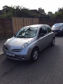 Nissan Micra 1.2cc 2005 MOT Drives Like A New Car Power Steering New Clutch Central Locking