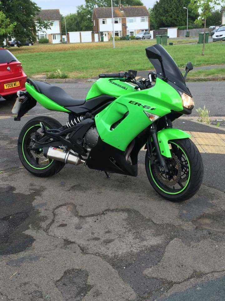 kawasaki er6f LAST CHANCE BEFORE SORN FOR WINTER